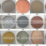 natural color sand, colored sand, colorful sand, granite particles, granite powder