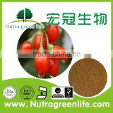 regulate blood sugar level wolfberry goji extract Lycium barbarum L Polysaccharid 50% pharmaceutical grade