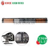 New 7W leds amber led light bar, 26 inch led light bar amber cover                                                                         Quality Choice
