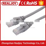 5m grey bare copper conductor cat 5 network cable