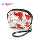 Factory Hot Sell Ladies Fashion Small PU Travel Cosmetic Bag