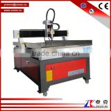 T-slot working table,XYZ linear round guider, Advertising Metal Wood CNC Engraving Machine for sale ZK-9015