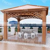 2015 Decorative outdoor metal pavilions/green Garden Gazebo
