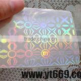 transparent2D/ 3D hologram card for business