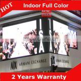 ali p6 indoor LED display full xxx vedio wifi LED display for Corner