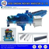 Passed CE & ISO metal roofing c z purlin roll forming macine/C/Z purlin roll forming machine