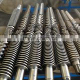 Super-hard extruder screw barrel for HDPE/LDPE/LLDPE blown film molding machine/China extruder