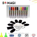 Amazon Popular Liquid Chalk Markers - 12 Pack With Chalkboard Labels - Amazing Neon Color Pens Including Gold And Silver Ink.