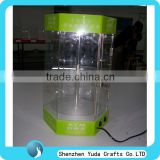 Large display case acrylic display case with LED light acrylic case for electronic product
