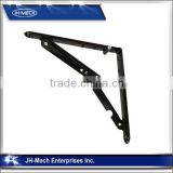 High Quality Wholesale Black Folding Shelf Bracket