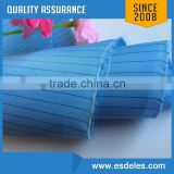 Different Colors Class 1000 Polyester Cleanroom Antistatic Fabric with Conductive Carbon