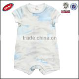 high quality colorful organic cotton baby rompers wholesale baby clothes manufacture china