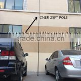 25 feet Carbon fiber telescopic tube for window cleaning poles