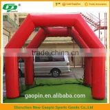 New design inflatable golf practice net indoor