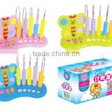 Plastic baby teacher abacus toys (Multi color)
