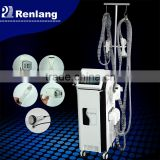 Professional 5 treatment handle velashape slimming machine price / infrared vacuum skin rejuvenation fat removal machine