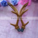 LUCKYTREE plastic deer antler for ornaments