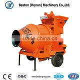 Free spare parts for best selling concrete mixer with hoist and lift foam concrete mixer machine