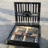GGG50 Ductile iron manhole cover, trench cover, trench grating, trench grate, sump cover,cast iron grating