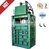 HYdraulic Vertical baler for used clothes /waste paper/textile /Hydraulic vertical fiber baler