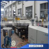 pvc foaming skirting sheet board production line/pvc plastic sheet making mchine/plastic extrusion line