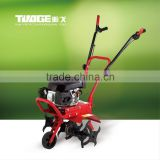 2016 farm soil loosening machine,mini hand power tiller use 4.5Hp gasoline 4-stroke engine