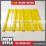 flexible transparent fiberglass reinforced plastic sheet for greenhouse cover