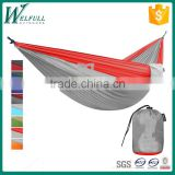 Factory hot selling custom outdoor swings hanging nylon hammock