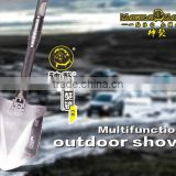 2015 Garden Multifunctional Hand Tool Patent Shovel Hammer Hoe Garden Kit Knife Garden Saw Flashlight Screwdriver Snowfield Tool