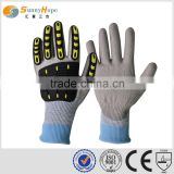 sunnyhope Industrial safety glove impact resistant mechanic glove safety protection gloves