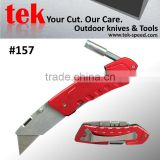 440 stainless steel carton cutter utility knife with screwdriver