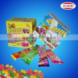 Milk and Fruit Flavor Didi Jelly Bean Candy
