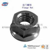 Railway Lock Nut For Fastening system, Track Material Railway Lock Nut, China low price Railway Lock Nut