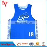 Factory price! Reversible Lacrosse MENS Scrimmage Training Vests Soccer Football Shirt