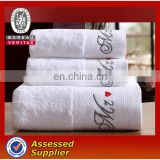 5 Star Qaulity White Cotton Hotel Bath Towel