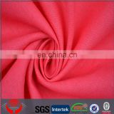 Rose red for women linen fabric wholesale