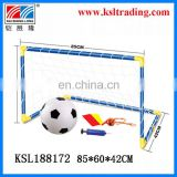 85*60*42cm kids outdoor/indoor toy for childre plastic toy football door for sale