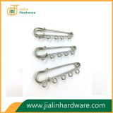 Five holes decorated brooch safety pins great for garment ornament