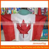 custom polyester Canada body flag