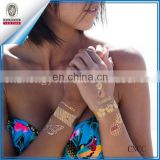 Flash Metallic Temporary Removable Tattoo Body Art - Best Quality, Long Lasting!