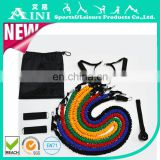high quality 11pcs resistance bands set