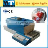 jet heat shrink film packaging machine heat tunnel jet shrink wrapping machine jet thermal wrap packaging machine