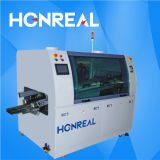 Automatic lead free dip welding machine small dual wave soldering machine for SMT LED line