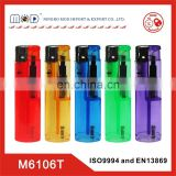 Europe standard cheapest butane plastic gas lighter- china transparent lighter with ISO9994 for Europe