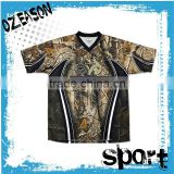 Wholesale cheap blank t shirts Custom Hunting Fishing camo t shirts