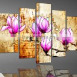 handmade paper craft with inner photo frame oil painting for wedding decoractions wall stickers for living room home decor