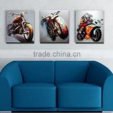 Best Quality and Price Big Wholesale Customized Available Handmade Cool Car on Canvas Painting