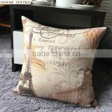 Birds Printed Cushions Sofa Back Cover Decorative Cushion Covers