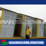 Newly designed useful shipping container house portable show room