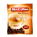 custom printing laminated material coffee beans packaging bag/ plastic bag for packaging coffee beans 5 g/ 10g